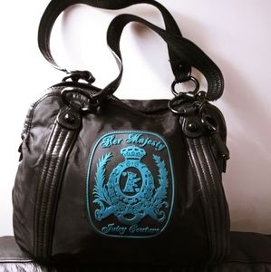Juicy Couture Nylon & Leather Tote
